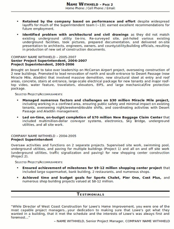 government job resumes example     resumecareer