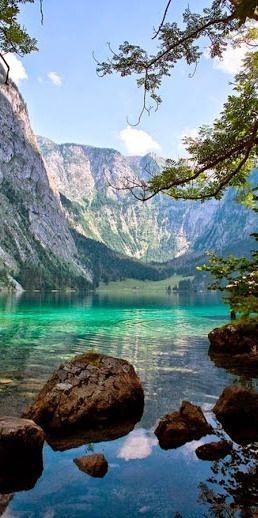 The Obersee Lake ~ Bavaria, Germany http://writeonpurpose.com/miracle                                                                                                                                                      More