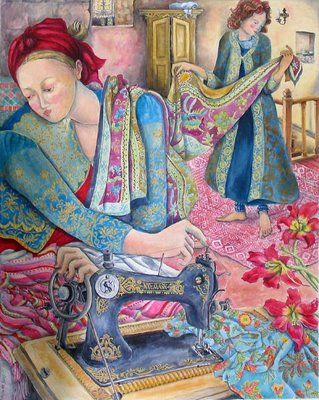 A costureira de Nerida de Jong
