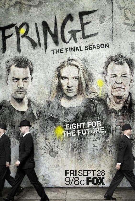 Une affiche pour la saison 5 de Fringe