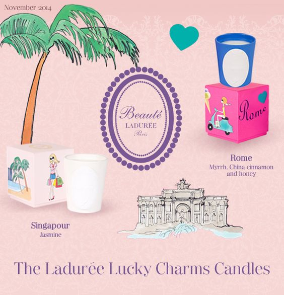 The Ladurée Lucky Charms Candles