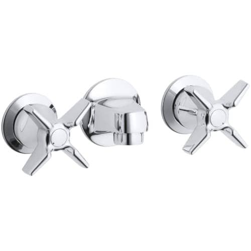 kohler k 8046 3a triton wall mount bathroom faucet free metal grid drain assembly with purchase silver - Kohler Waschbecken Armaturen