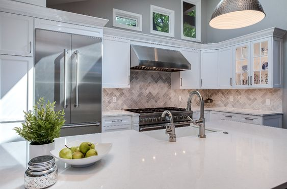 White Kitchens Are Almost Always Perfect Jm Kitchen And Bath White Shaker Kitchen White Kitchen Design Kitchen Remodel