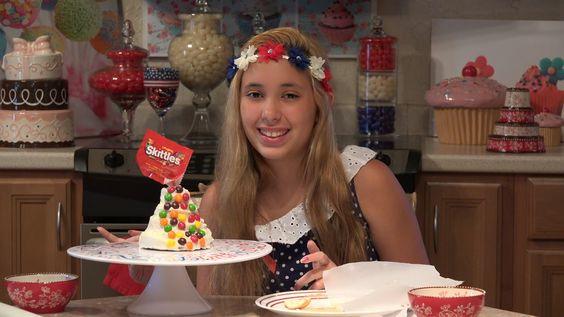 Kitchenasium Skittles Gravity Defying Cake