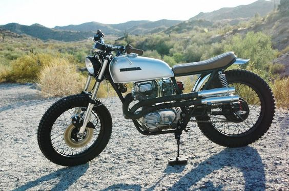 Honda CL360 by Innovative Motosports