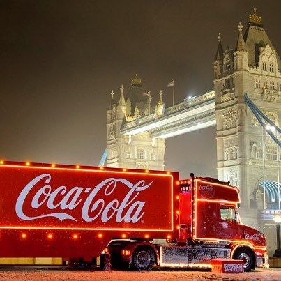 Coke & London - two of my favourite things