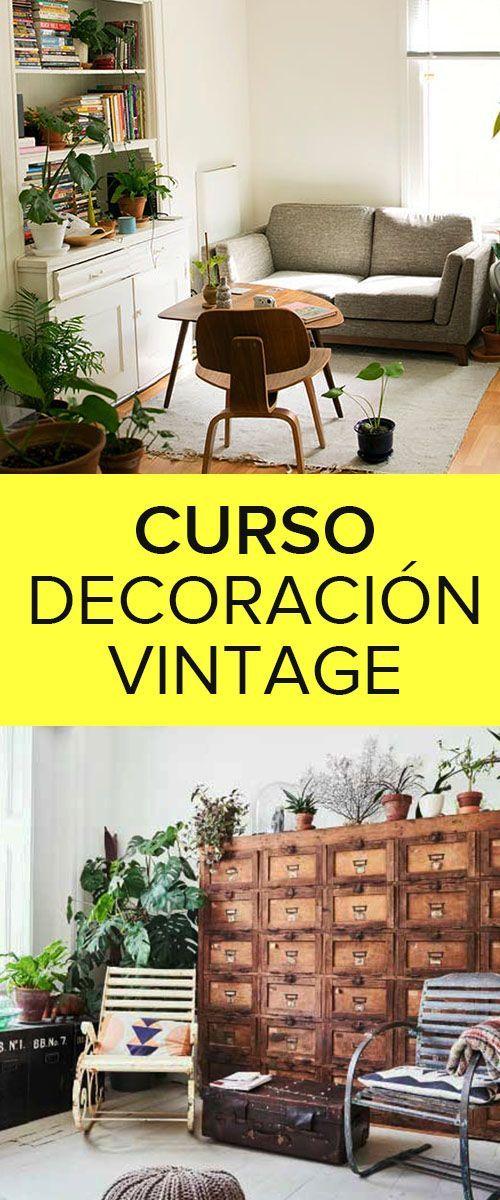 Curso De Decoracion Vintage Capacitacion Gratis Con Imagenes