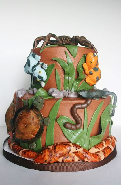 And Everything Sweet: Reptile Cake