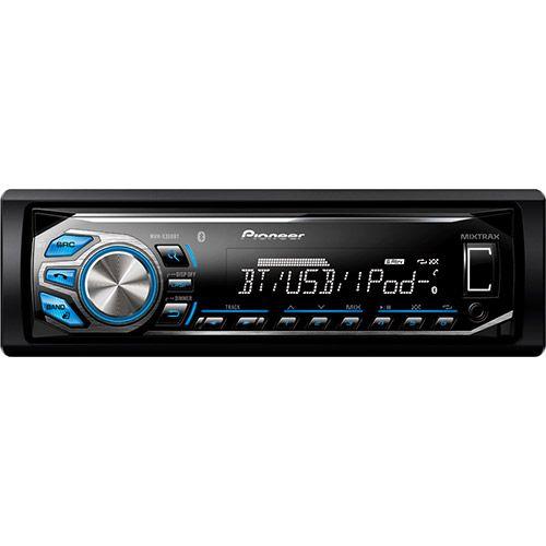 Som Automotivo Pioneer MVH-X368BT AM/FM Bluetooth USB Entrada Auxiliar RCA  e Tecnologia Mixtrax