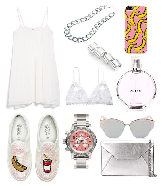 """Summertime #look #style #fashion"" by mary-valuiskis on Polyvore"