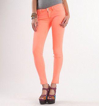Bullhead Black Solid Colored Skinny Jeans