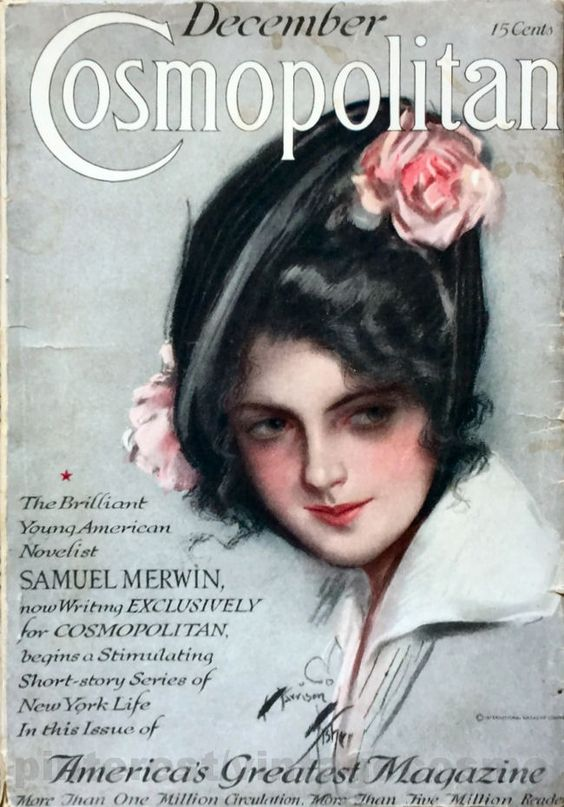 "Cosmopolitan magazine, DECEMBER 1920  Artist: ""Betty"" Harrison Fisher:"