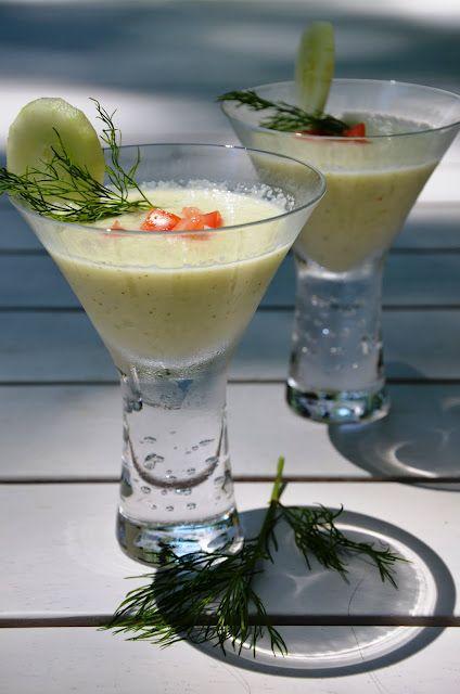 Cucumber Dill Gazpacho