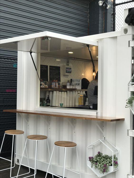 mini kafe kontainer