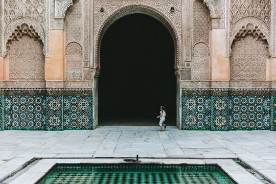 The Ben Youssef Madrasa // City Guide to Marrakech from Project Bly and Caitlin Flemming. //  #Design #Morocco #Travel: