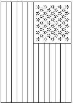 Coloring American Flag American Flag Coloring Page Flag
