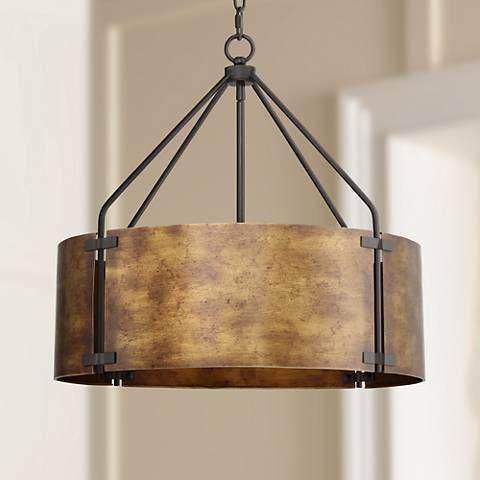 rustic pendant lighting drum pendant