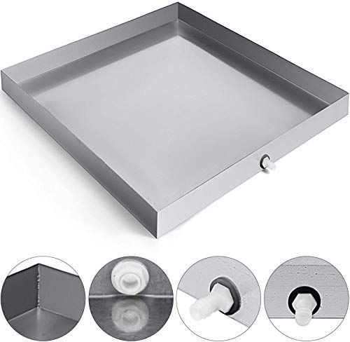 Buy Vevor 32 X 30 Inch Washing Machine Pan Galvanized Steel Heavy Duty Compact Washer Drip Tray Drain Fitting Online Thechicfashionideas In 2020 Washing Machine Pan Compact Washer Washer Machine