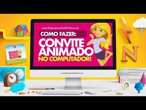 Convite Animado Unicornio Gratis Para Baixar E Personalizar