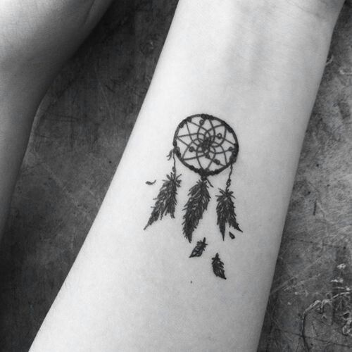 #ink #tattoo #dream catcher: