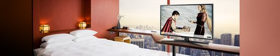 http://www.samsung.com/th/business/business-products/hotel-tv Hotel TV ระบบทีวีสำหรับโรงแรม Hotel TV ประสบการณ์มัลติมีเดียที่แท้จริงสำหรับโรงแรมของคุณ ให้ธุรกิจที่พักของคุณมี TV ที่มีฟังชั่นครบครันให้กับผู้เข้าพัก สนใจระบบทีวีโรงแรมดูข้อมูลเพิ่มเติมที่นี่ #ระบบทีวีโรงแรม