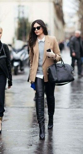 55 How To Wear To Rock Your Winter Style outfit fashion casualoutfit fashiontrends