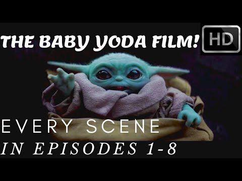 All Baby Yoda Scene Episode 1 8 Yoda Film Season 1 1080p Full Hd Youtube Yoda Star Wars Merch Film