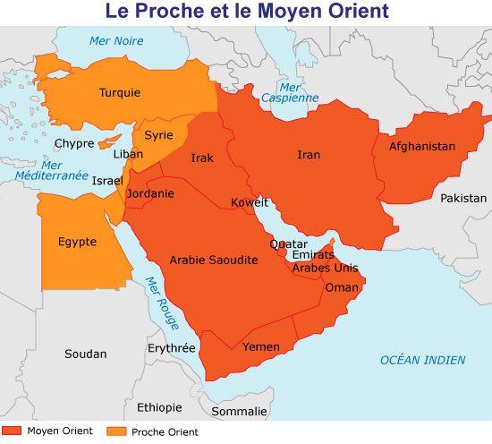 Epingle Par Zebulon Sur Missions Moyen Orient Carte Moyen Orient Carte Proche Orient