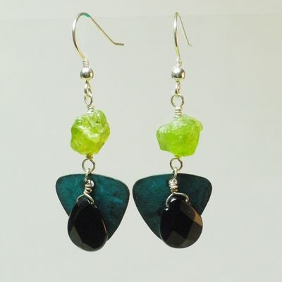 Peridot petina by Christina Holland Designs  www.ChristinaHollandDesigns.com