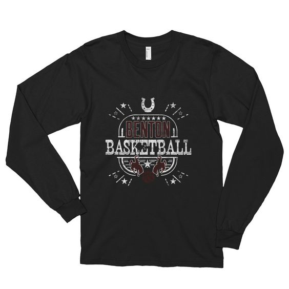 Benton Ranger Basketball Long Sleeve Tee