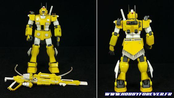 HGUC, le RGM-79 GM, projet « GM Sentai » Modèles réalisés par Zenkuro