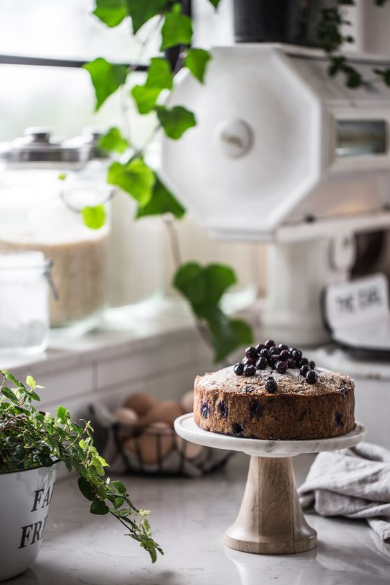 Tara's Blueberry And Poppy Seed Snacking Cake