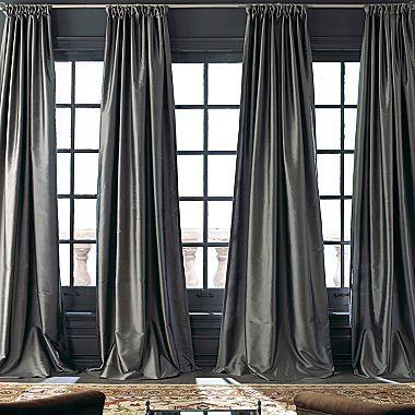 Royal Velvet® Grandeur Silk Window Panel - jcpenney
