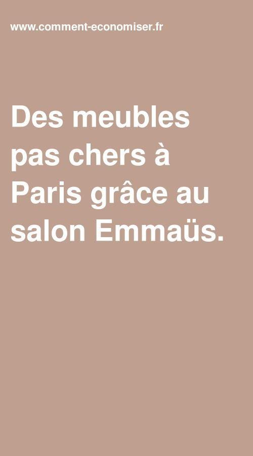 Des Meubles Pas Chers A Paris Grace Au Salon Emmaus En 2020 Meuble Pas Cher Trucs Et Astuces Mobilier De Salon