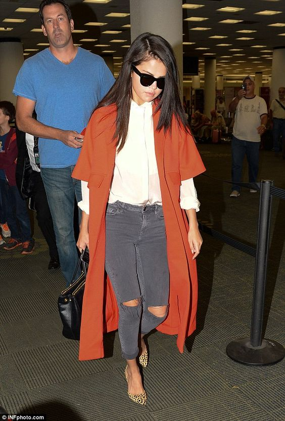 What's wrong? Selena Gomez tweeted that was feeling down in the dumps when she arrived at ...