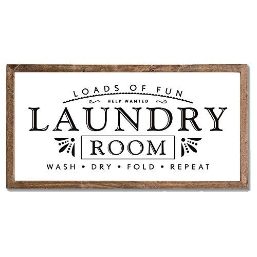 Laundry Signs For Home Decor Loads Of Fun Laundry Room Wo Https