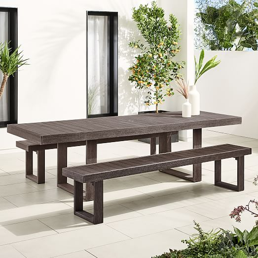 44++ Outdoor bench for dining table Inspiration