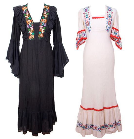 Perfect Mexican Fiesta Dress  Mexican Dress For Women  Campesina Dress