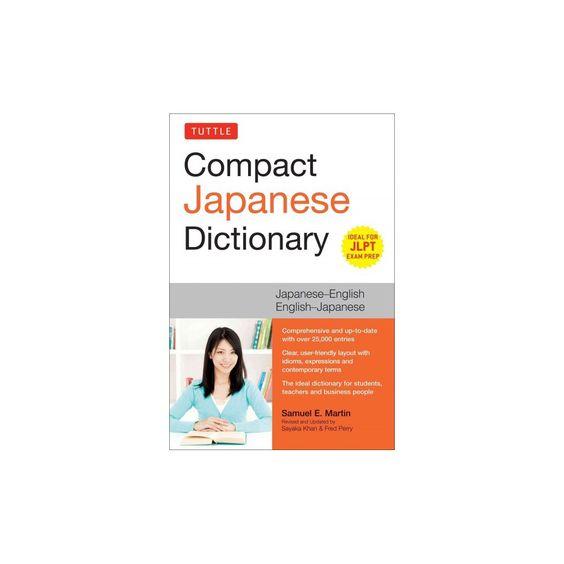 Tuttle Compact Japanese Dictionary : Japanese-english English-japanese (Paperback) (Samuel E. Martin)