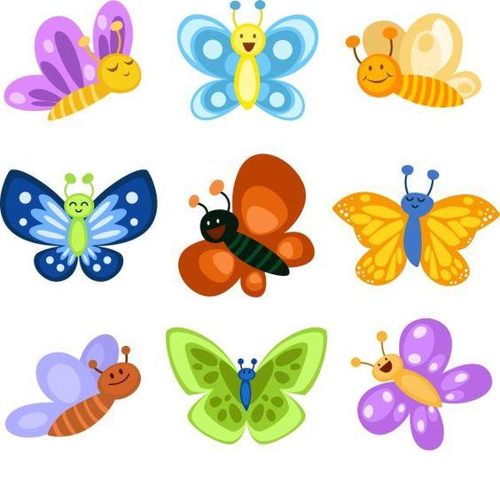 Картинки для детей Бабочки