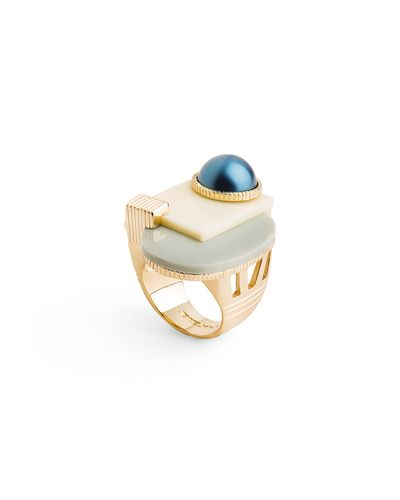 Abstract Art Ring
