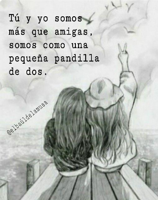 Amor Amigas Mujer Citas Frases Fotofrase Dos