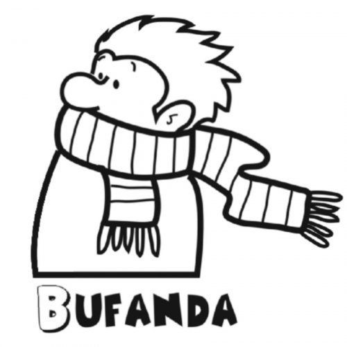 Colorear Bufanda Coloring Pages Colorful Pictures Classroom Projects