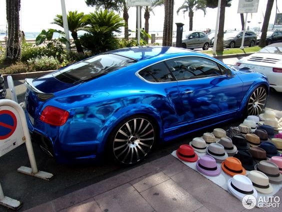 Bentley Continental GT Speed 2012 GTX Edition by ONYX - Chrome Blue, again