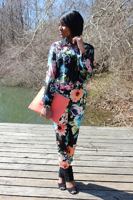 {floral on floral} -- www.thedaileigh.com