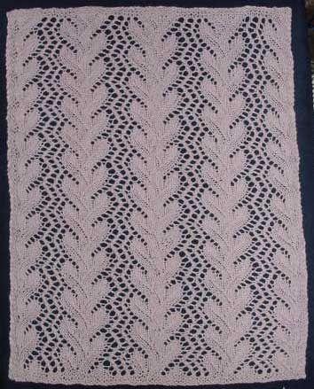 Free Knitting Pattern: Coral Pattern Tidy