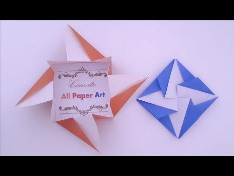 Origami Paper Art Origami Tato Envelope Tutorial Diy
