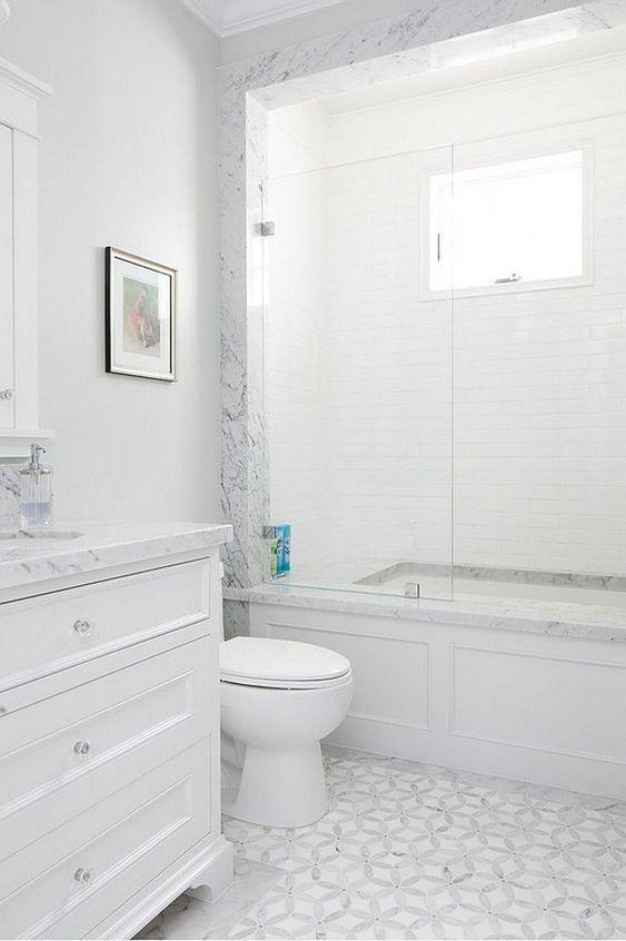 35 White Bathroom Ideas 2020 That Feel Fresh And Luxurious In 2020 Bathroom Inspiration Small Bathroom Remodel Bathrooms Remodel