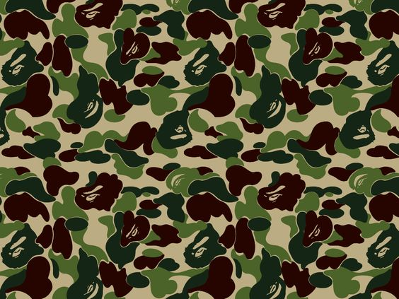camo rc bape 1024x768 pixel army hd wallpaper 8123