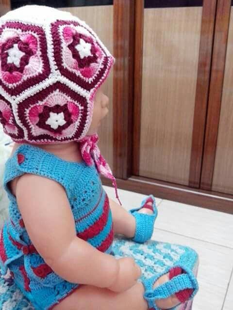gorro - bola Crochetsruth disponivel ate 5 meses